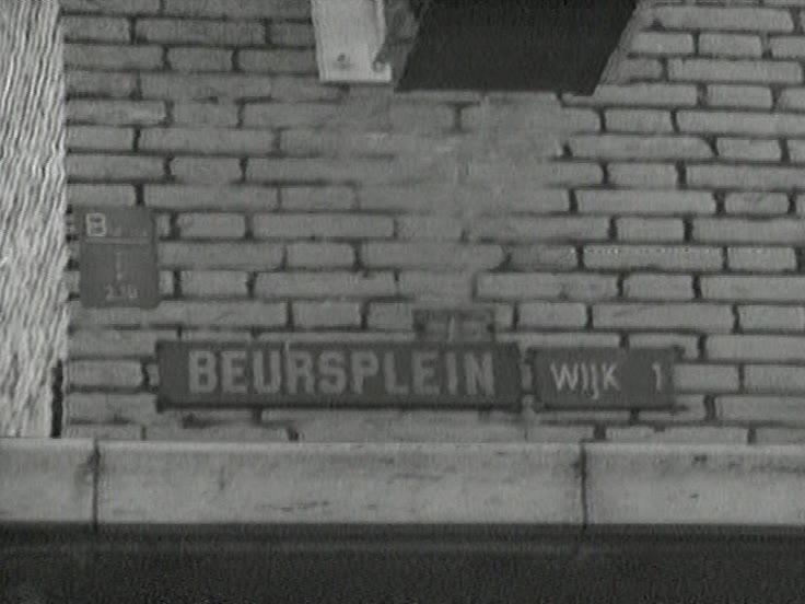 Beursplein - Amsterdam, Beursplein - Rotterdam